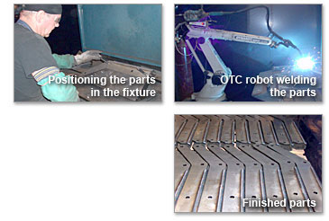 Global Body & Equipment - OTC Robotic Welding Capabilities